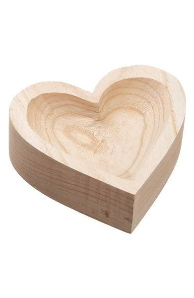 Allstate Wood Heart Bowl Wood Hearts Wood Valentine Ideas Carved Wooden Bowl