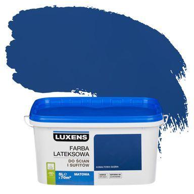 Farba Wewnetrzna Do Scian I Sufitow Emulsja 5 L Kobaltowa Glebia Luxens Farby Scienne Kolorowe W Atrakcyjnej Cenie W Skle Vaseline Bottle Kitchen Appliances