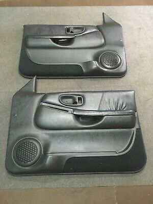 Ad Ebay 98 04 Chevy Blazer Jimmy S 10 Gmc Sonoma Front Door Panels Power Oem Graphite Chevy Panel Doors Chevy S10
