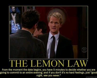 Lemon Law HIMYM HIMYM Pinterest Lemon Law And Himym   Barney Stinson Resume  Barney Stinson Resume Video
