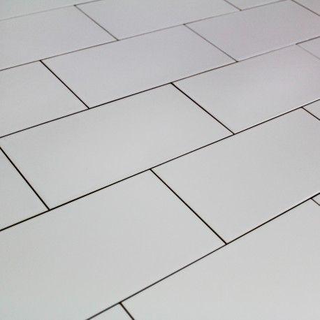 Carrelage Metro Blanc Mat Mat Best Tile Floor Kids Bathroom
