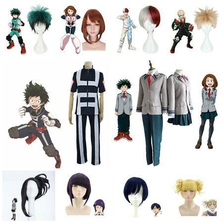 My Hero Academia Boku no Hero Academia Kohei Horikoshi gym Cosplay Costume Full