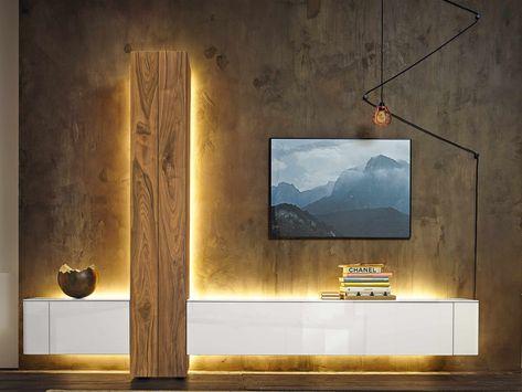 Wohnwand HÜLSTA Gentis | möbel | Wohnzimmer, Möbel und Wohnen
