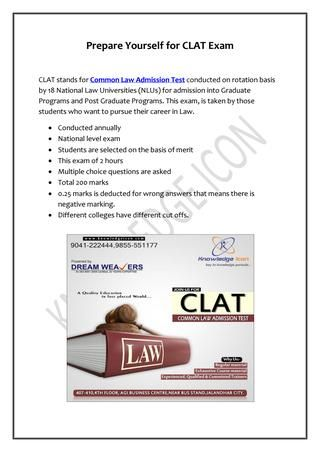 Clat Coaching Institute In Jalandhar Coaching Graduate Program Previous Year Question Paper