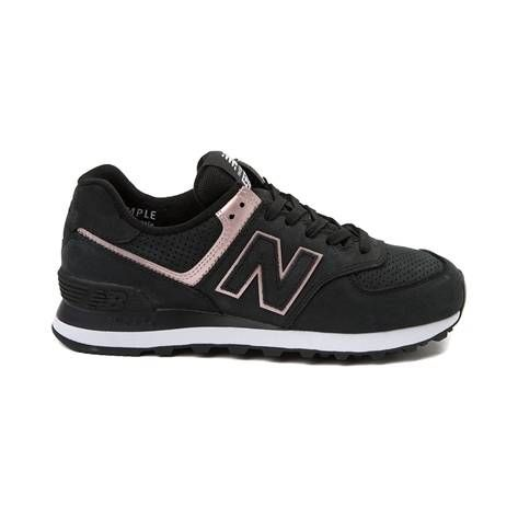 new balance 574 zwart dames on sale