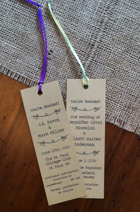 List Of Pinterest Literary Wedding Favors Save The Date Pictures