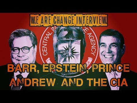 Barr Epstein Prince Andrew And Cia Interview Youtube With