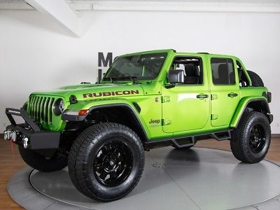 Ebay Wrangler Rubicon 2018 Jeep Wrangler Unlimited Rubicon 14 Miles Mojito Clear Coat Convertible V6 Jeep Jee Jeep Wrangler Jeep Wrangler Unlimited Jeep Jl