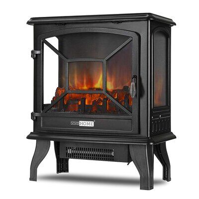Vivohome Electric Stove Stove Fireplace Freestanding Fireplace Electric Fireplace
