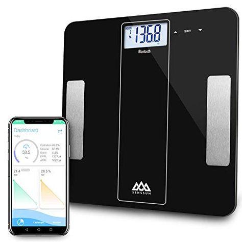 Balance Connectee Pese Personne Impedancemetre Senssun