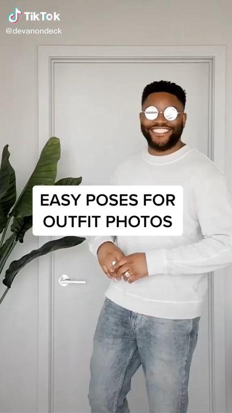 Veja algumas poses de fotos e se inspire. crédito video /devanondeck