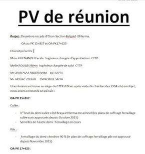 Exemples De Pv De De Reunions Word Doc Words Motivation
