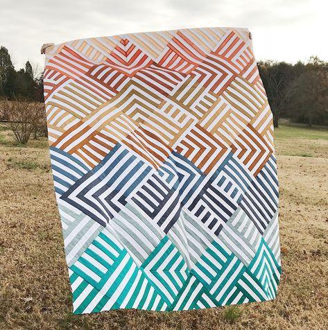 Interwoven   Quilt Pattern   Lo & Behold Stitchery