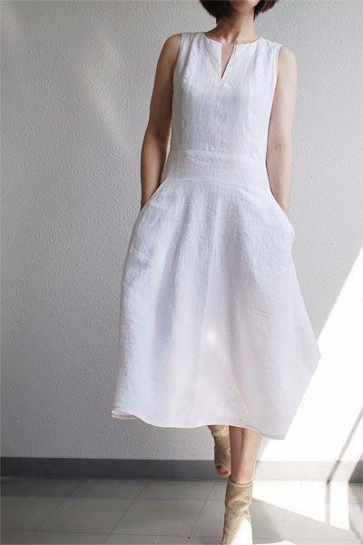 Yazlik Keten Elbisenin Dayanilmaz Cazibesi 50 Den Sonra Hayat Elbise Kiyafet Yazlik Kiyafetler