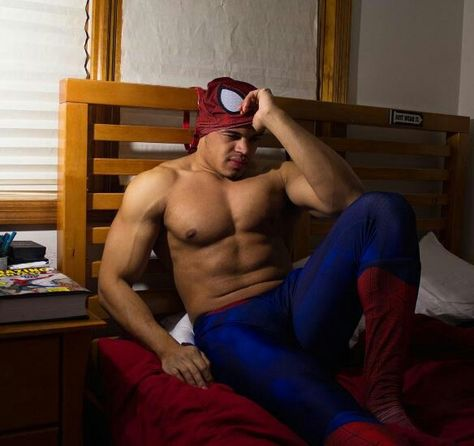 Pin em Gay Spiderman sexy as hell