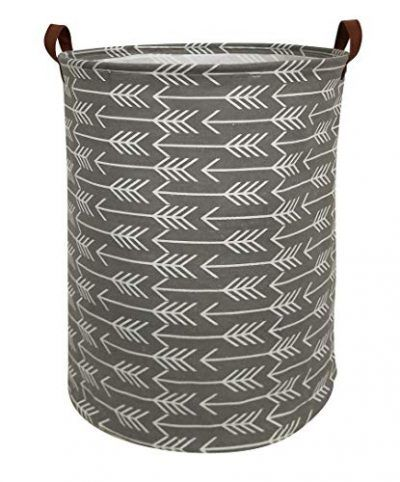 Hiyagon Large Storage Baskets Waterproof Laundry Baskets