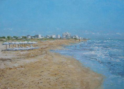 15 Ideas De Cuadros Playa Playa Cuadros Pinturas De Playa