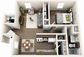 3d Floor Plan Ideas 3d Floor Plan Render In 3d Max With Vray 3 4 Interior Design Plan Floor Plan Design Home Design Plans