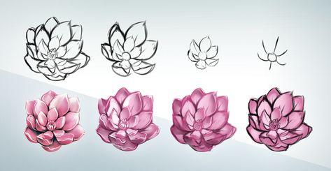 Idea Immagini Da Disegnare Facili Fiori Con Matita E