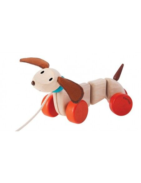 Plan Toys Pull Along Puppy 21 99 5 Off New Orders Pull