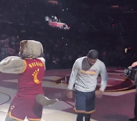 High Five Jr Smith Gif By Nba With Images Nba High Five