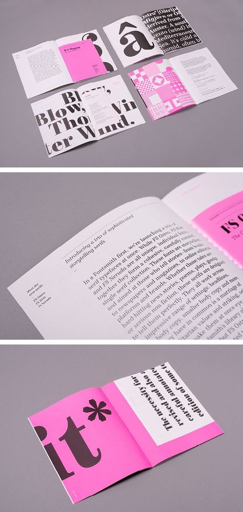 Introducing a trio of sophisticated storytelling serifs