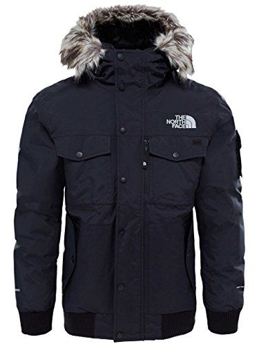 THE NORTH FACE Herren Gotham Jacke TNF BlackHigh Rise Grey