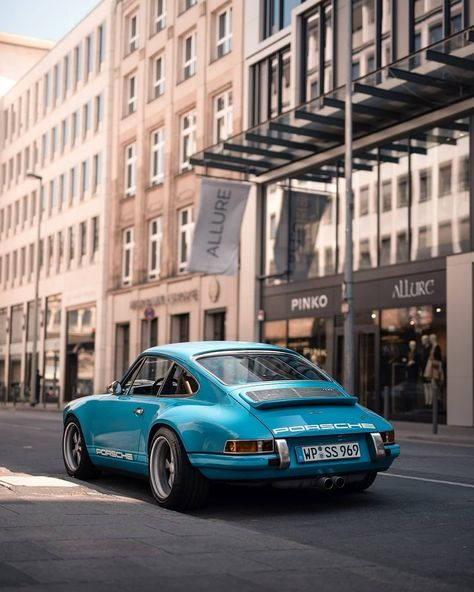 "yourlookbookmen: ""Mens Classic Cars - Singer Porsche 911 Most popular fashion blog for Men - Men's LookBook ® """