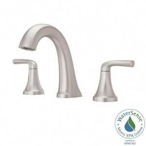 Pfister Ladera 8 In Widespread 2 Handle Bathroom Faucet In Spot Defense Brushed Nickel Lf 049 Lrgs At The Home D Bathroom Faucets Brushed Nickel Faucet Faucet