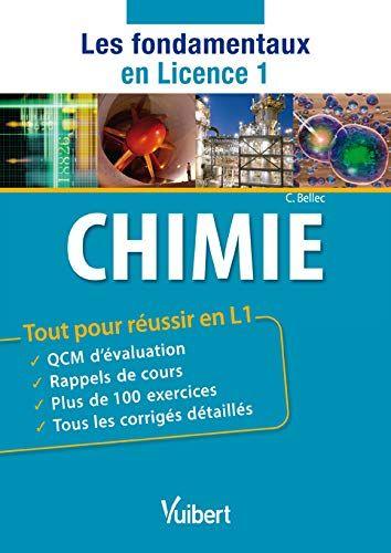Livres Chimie Tout Pour Reussir En L1 Telechargement Gratuit Du Livre