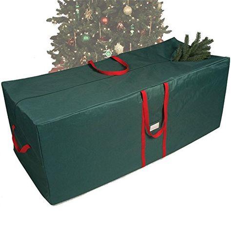 Heavy Duty Waterproof Holiday Tree Storage Bag Wreath Christmas Tree Decoration Accessories Tree Storage Bag Christmas Tree Storage Bag Christmas Tree Storage