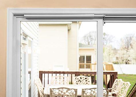 Slideback Self Closing Sliding Patio Door Closer Heavy Duty Plus For 8 Ft Doors Sliding Patio Doors French Doors Patio Exterior Patio Door Installation