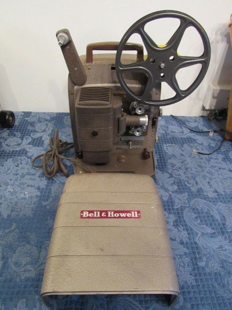 Vintage Bell Howell 253 Ax 8mm Film Projector Working 253ax For