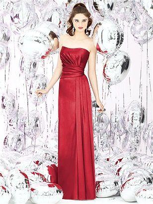 glam bridesmaids dress