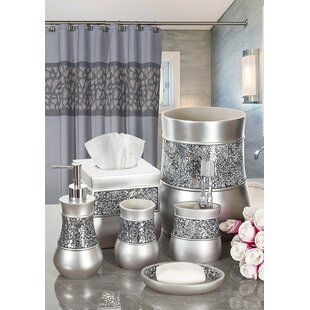 Willa Arlo Interiors Irie 4 Piece Bathroom Accessory Set Wayfair Complete Bathroom Sets Bathroom Sets Bathroom Accessories Sets