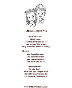 Baby Jesus Baby Jesus I Love You Lyrics : jesus, lyrics, Sunday, School