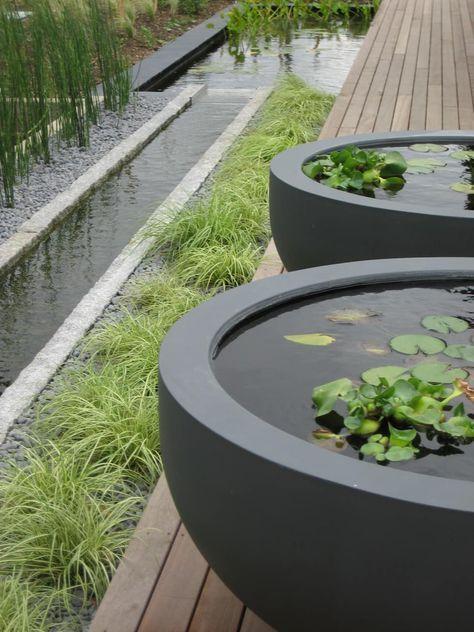 45 Ideas For Garden Layout Vegetable Food In 2020 Water Features In The Garden Modern Landscape Design Garden Architecture