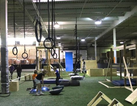 Ctc Indoor Obstacle Gym In London 12 15 For Adults Basketball Court Basketball Sports