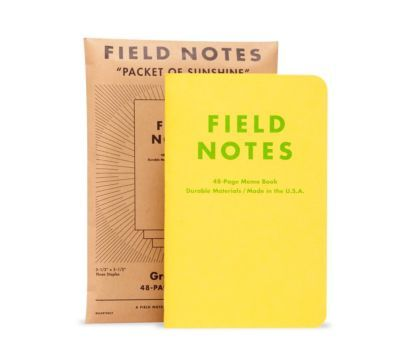 Write it Down with Field Notes Brand Notebooks The European - field note
