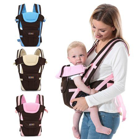 Infant Newborn Adjustable Ergonomic Baby Carrier Sling Wrap Rider Front Backpack