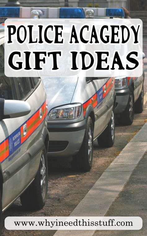 15 Best Police Academy Graduation Gifts They Will Appreciate.