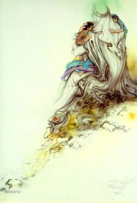 عکس نقاشی های مینیاتوری استاد فرشچیان