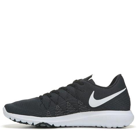 646fc319c291d Nike Kids  Flex Fury 2 Running Shoe Grade School Shoes (Black White)