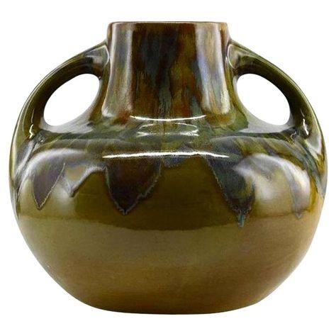 Baffert and Dyonne Bady French Stoneware Vase, 1948