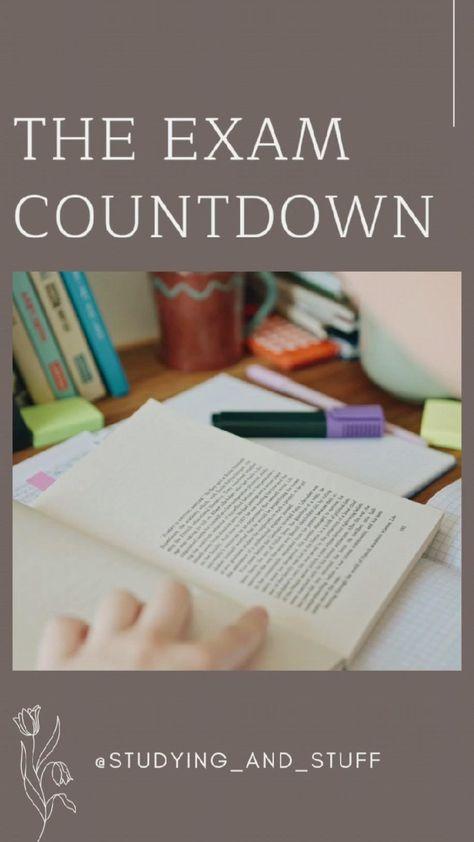 The Exam Countdown