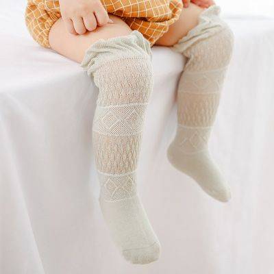 Baby Loose Open Toddler Cotton Knee High Socks Tights Leg Warmer Stockings0-3 cp