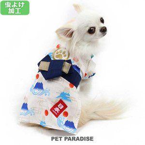 犬服 犬 服 夏 ペットパラダイス 虫除け 富士山 浴衣 小型犬 小型犬 全開 1着のみメール便可 返品不可 ペットパラダイス 通販 Paypayモール 小型犬 犬 ペット