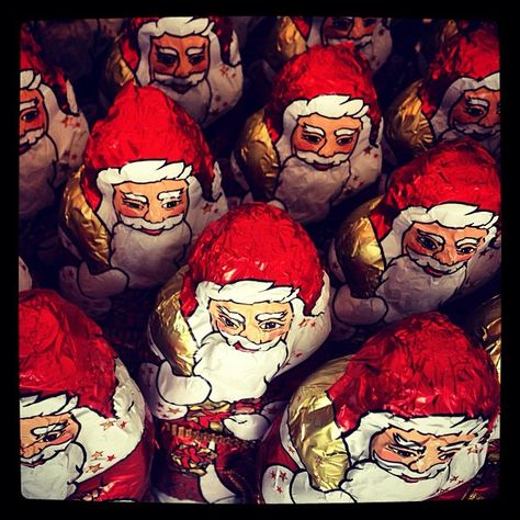 Have you had a chocolate Santa yet?