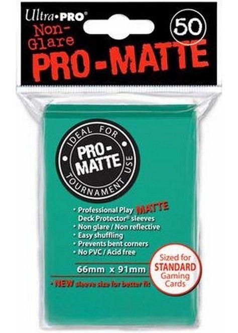 100 2pk ULTRA PRO Pro-Matte Deck Protector Card Sleeves Magic Standard Aqua