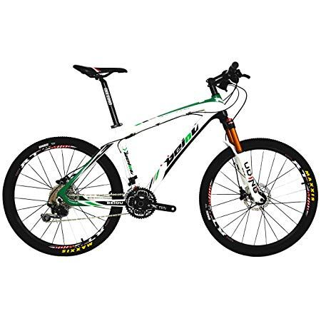 Beiou Carbon Fiber Mountain Bike Hardtail Mtb Shimano M6000 Deore 30 Speed Ultralight 10 8 Kg Rt 26 Professional External Cable Routing Toray T800 Cb005 Trong 2020